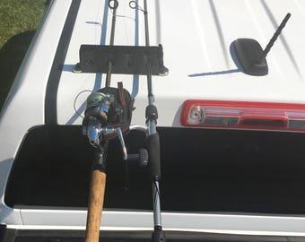 Rod Ride - Fishing Pole Holder, Transport and Storage
