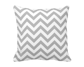 7 Sizes Available: Throw Pillow Cover Chevron Pillow Grey Pillow Gray Pillow Grey Chevron Pillow Geometric Pillow Decorative Pillow