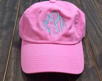Monogrammed Baseball Hat - Monogrammed Hat - Monogram Hat - Monogrammed Cap - Garment Washed Hat
