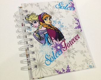 Frozen A6 Fabric Hardcovered Notebook