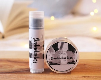 Shadowhunters Lip Balm   Inspired by The Mortal Instruments by Cassandra Clare