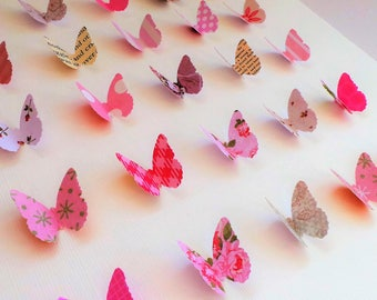 3D Butterfly Shadow Box Frame | Handmade Wall Art | Gift for Home | Home Decoration | Paper Art  | For Her  | Girls Bedroom  | Nursery Art