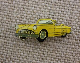 Classic Car - Enamel Pin by American Gag Bag Inc. - Vintage Novelty Pin c. 1980s