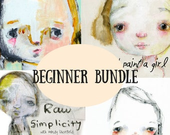Classes d'en ligne bundle débutant - par Mindy Lacefield