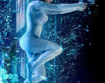 FREE SHIPPING Ghost in the Shell movie poster 11x17