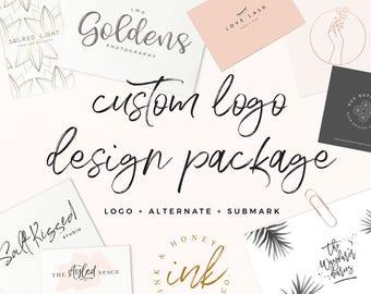 Business Branding Design | Blog Logo Design | Custom Logo Design and Watermark | Business Logo | Custom Photography Logo | One of a Kind