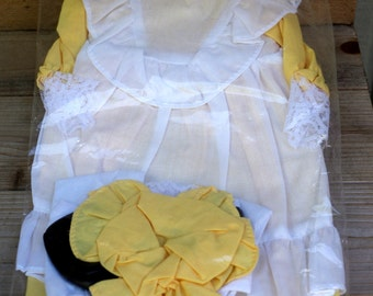 Yellow Country Doll Dress Set by Westrim Crafts