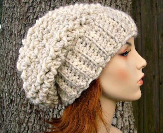 Instant Download Crochet Pattern Slouchy Hat Crochet Pattern