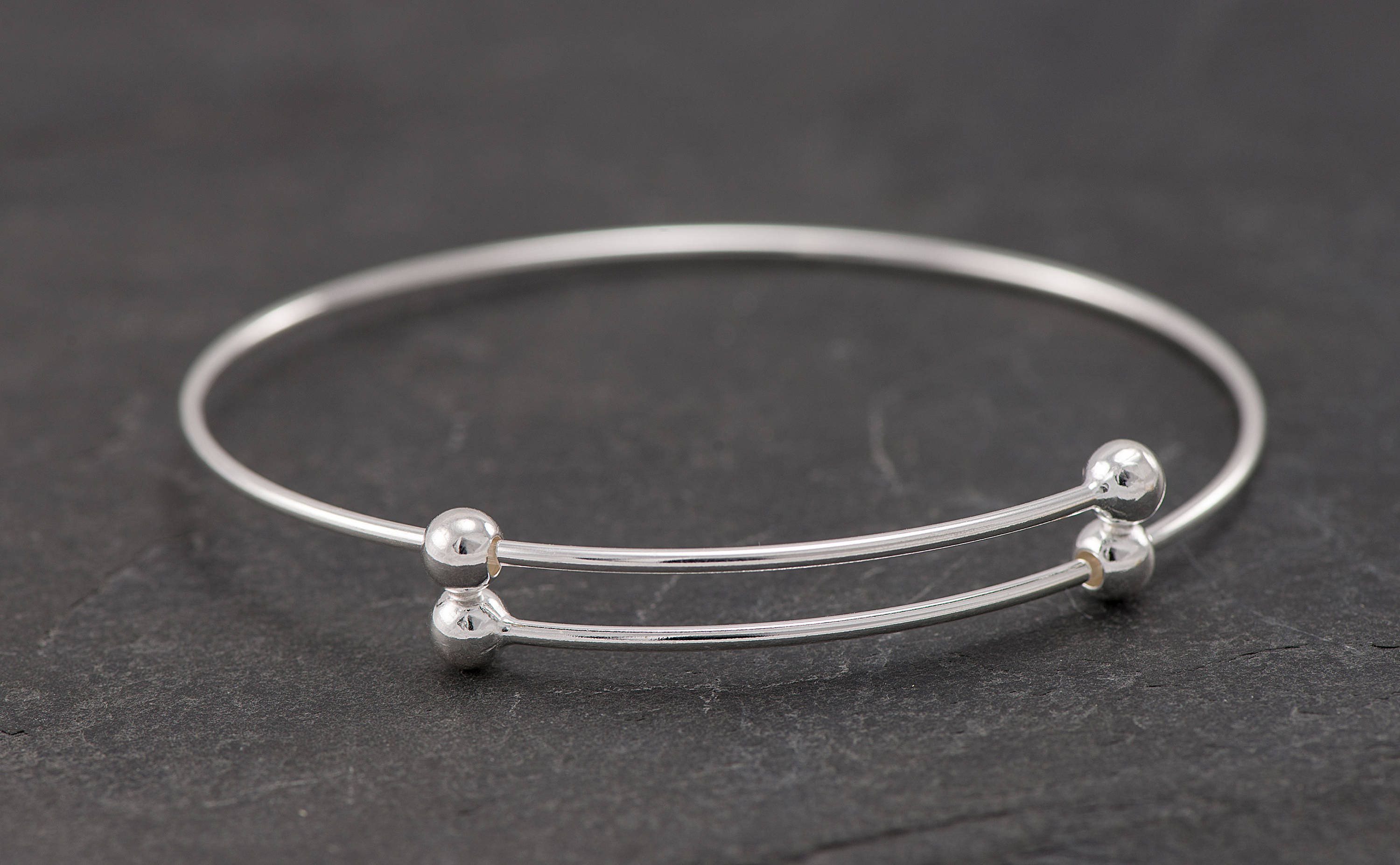 small white zirconia bangles cubic bangle bracelet with products silver bracelets