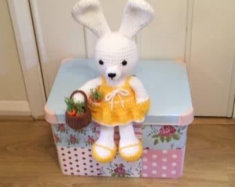Crochet dress me bunny