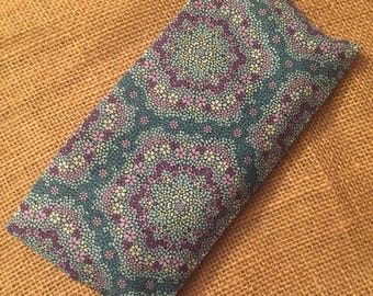 Aromatherapy Eye Pillow with Case ~ Eye Pillow with Removable Cover ~ Eye Pillow ~ Yoga Gift