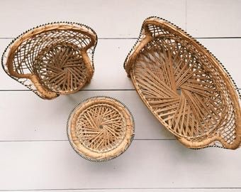Little Boheme Woven Doll Furniture Set
