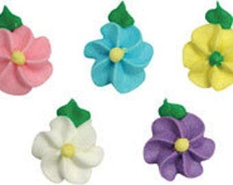 40 pcs  Lovely Flowers  Assorted Colors       Simply Darling