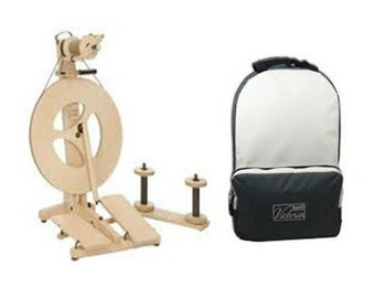 SALE: Louet Victoria Spinning Wheel PLUS Carrying Bag, 20% off US list price