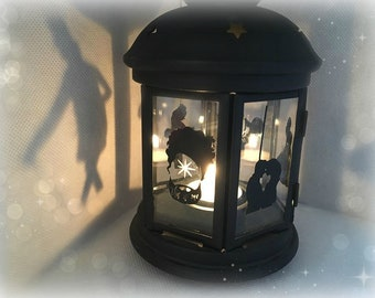 The Greatest Showman  Inspired Lantern, Tea light Holder,  Lantern, Candle Glow Gift set