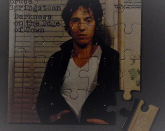Bruce Springsteen CD COver Magnetic Puzzle