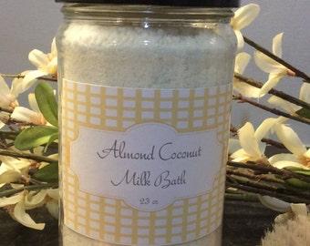 Almond Coconut Milk Bath