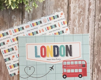 London - Project Journal Cards