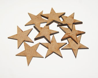 30mm Star Shapes For Craft/Scrap-booking/Decoration