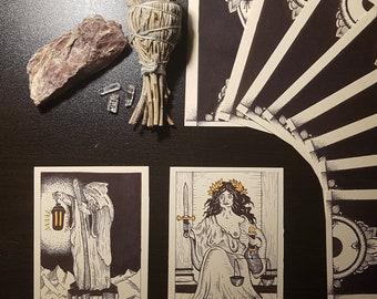 AD MORTEM' Tartot Card Deck