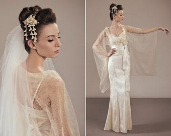 Amaterasu complete bridal outfit unique wedding dress ensemble