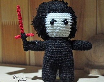 Kylo Ren amigurumi Kylo Ren crochet Kylo Ren star wars amigurumi The Force Awakens Ben Solo The last jedi