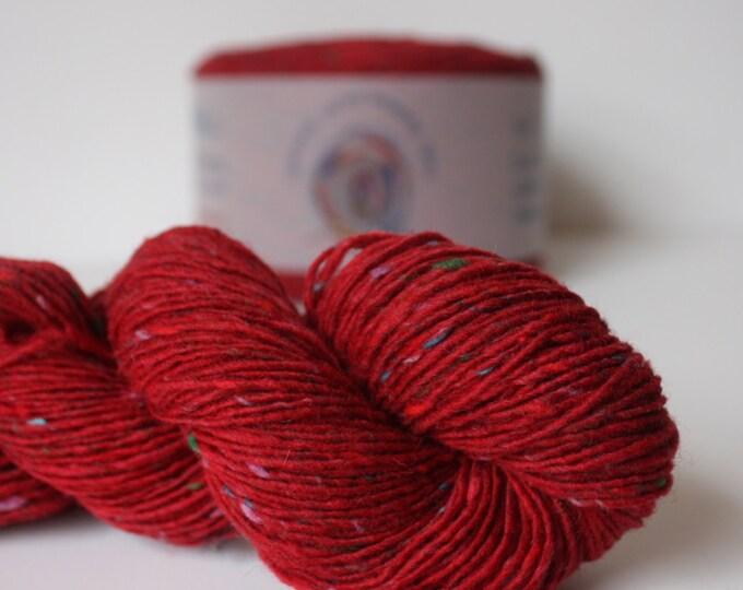 Spinning Yarns Weaving Tales - Tirchonaill 567 Carnival Red 100% Merino 4ply