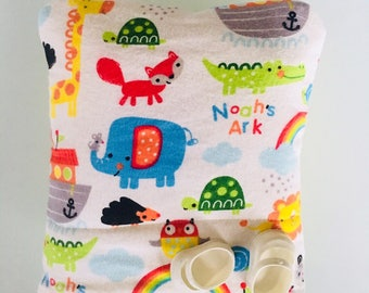 Baby Doll Bunting Baby Bag Pillow Blanket in One for Dolls Original Design Ark