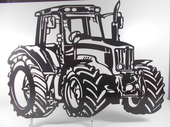 decoration plaque enseigne en metal tracteur agricole. Black Bedroom Furniture Sets. Home Design Ideas