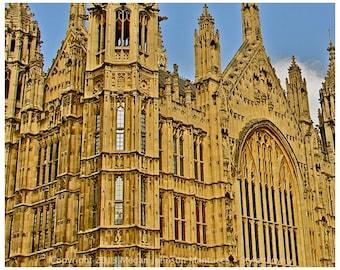 London Parliament print 8x10, London Photography, Fine art print, Parliament