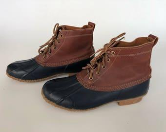 Vintage Eddie Bauer Duck Boots Men's 11