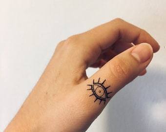 Eye Temporary Tattoo (Set of 2)