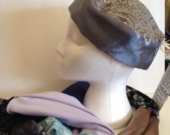 Upcycled Fabric Homemade Sleek Hip-Hat