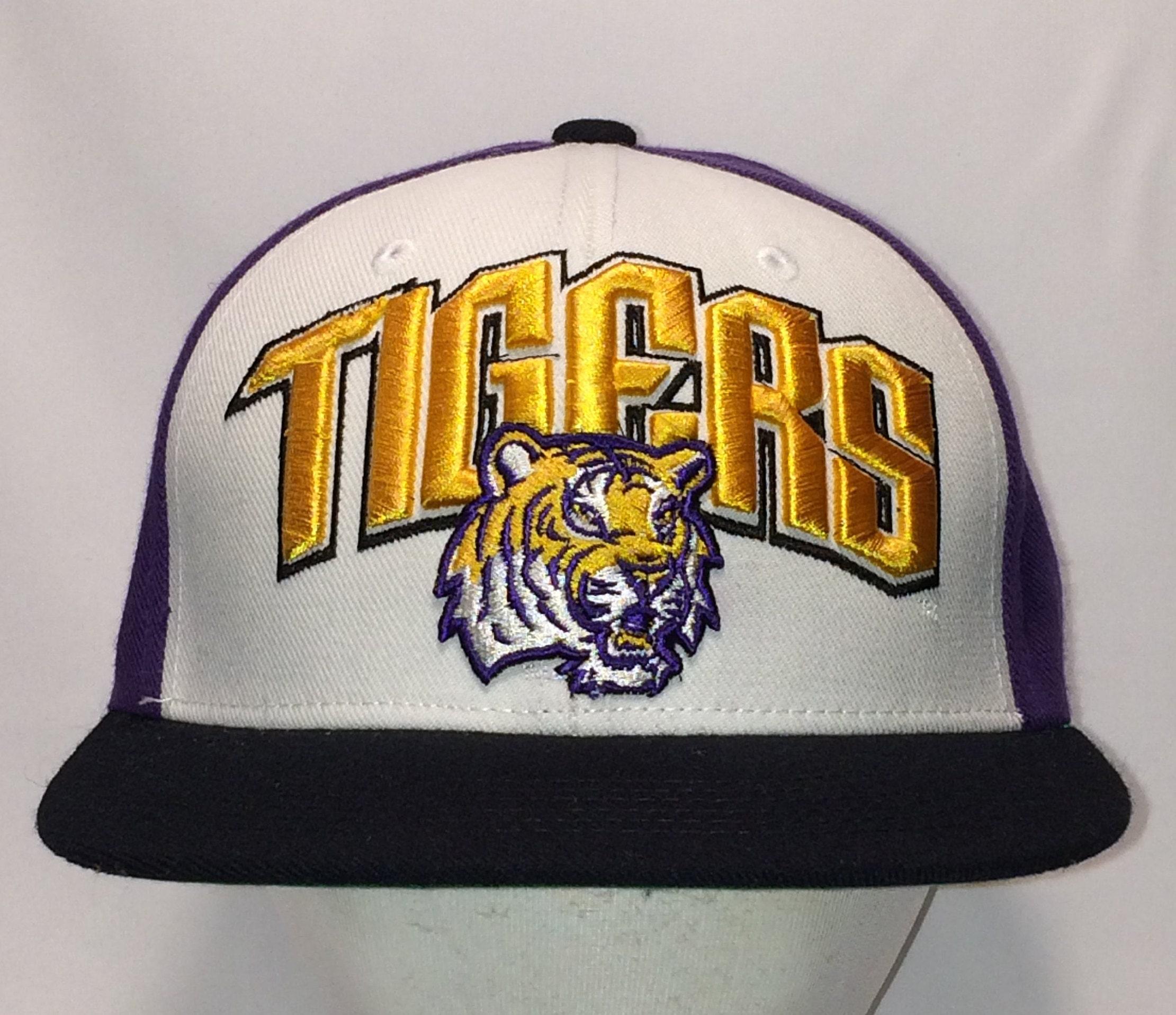 pretty nice 96ae3 0f665 ... low price vintage lsu tigers snapback hat ncaa basketball sports hats  ece11 334a8