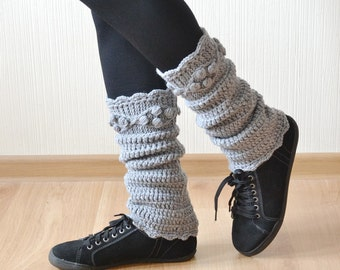 Leg warmers womens boot socks dance leg warmers ankle warmers girlfriend gift knit leg warmers crochet leg warmers Boot warmers  Boot cuffs