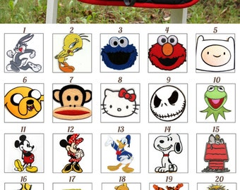 Custom Saddle Pad Cartoon Character Patch Many Characters - Snoopy // Minions // Disney - MADE TO ORDER