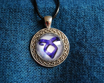 Literary Necklace Shadowhunter's Angelical Power Rune