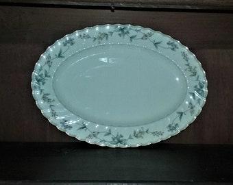 Noritake Brookhollow 4704 Pattern Large Oval Serving Platter
