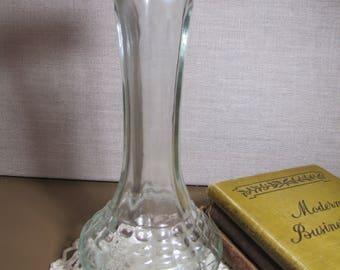C.F.G. Glass Vase- Flared Base