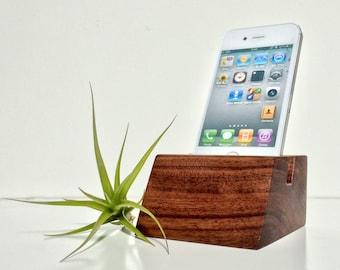 iPhone Dock - Walnut