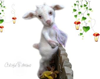 Crochet pattern Pretty Goat