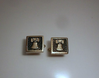 Liberty Bell Vintage Cuff Links