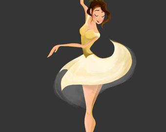 Ballerina Print 5