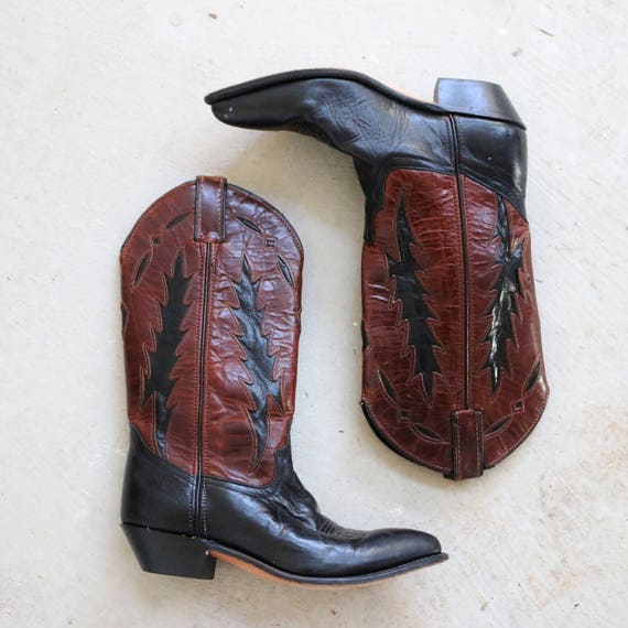 5 2 Code 5 1980s to 1 Cowboy 6 Women's West gt; 5 Boots Size gt; gt; zOOqPw