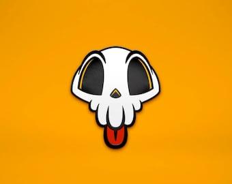 Lil' Skull Enamel Pin