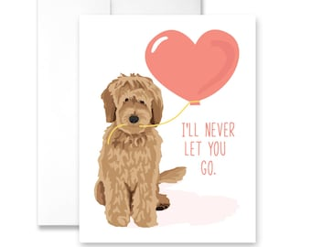 I'll Never Let You Go (with Doodle) - Greeting Card