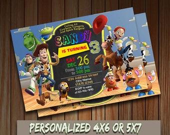 Toys Story Invitation,Toys Story Birthday Invitation,Toys Story Printable,Toys Story Card,Toys Story Party,Toys Story