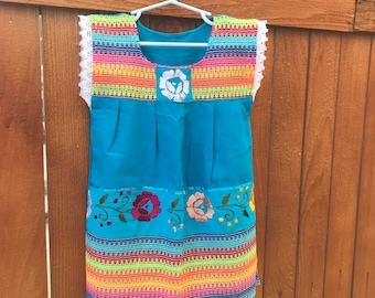 Girl Hand Embroidered Dress