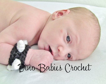 Spiked Cuff for Punk Baby Studded wristband Infant Photography Toddler Bracelet Spikes