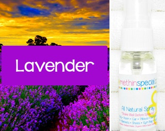 Lavender Natural Spray, Body Spray, Room Spray, Aromatherapy Spray, Lavender Spray, All Natural Spray, Natural Perfume, Essential Oil Spray